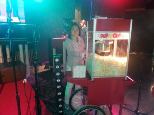 Popcornmachine huren Schouwburg Rotterdam