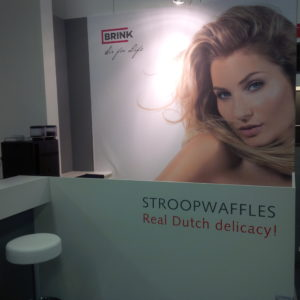 Reclame stroopwafels Brink Climate Systems