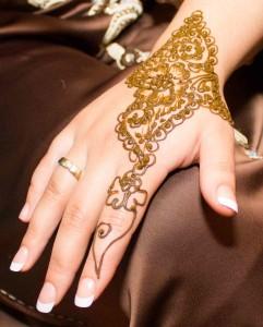 De Italiaanse ijscokar op een islamitische bruiloft henna feest