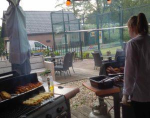 Barbecuen bij Mpoint