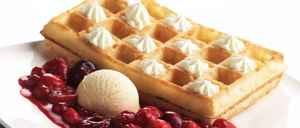 Brusselse wafel topping