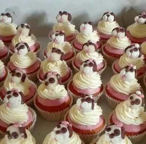 Cupcakes puppyshower