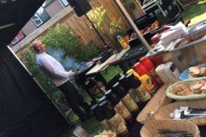 Barbecue feest op locatie