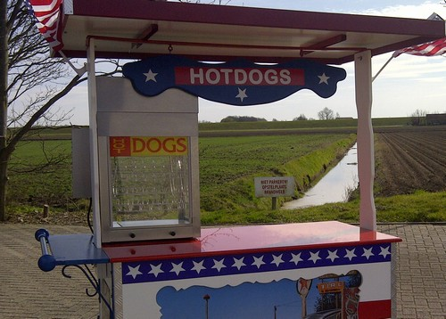 USA kar hotdogmachine