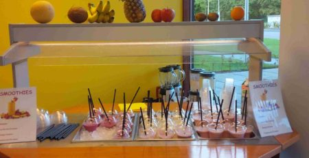 ijskoude smoothies als verassing bij schakenbosch