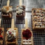 Brusselse wafels met toppings