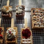 Brusselse wafels toppings