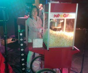Popcornmachine standaard onderkar
