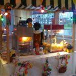 Sinterklaaskraam met zwarte Piet