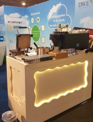 Koffie en stroopwafels de Wal ICT 2019