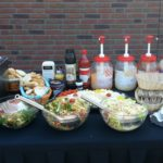 BBQ buffettafel