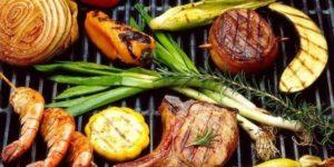 Gezonde barbecue catering