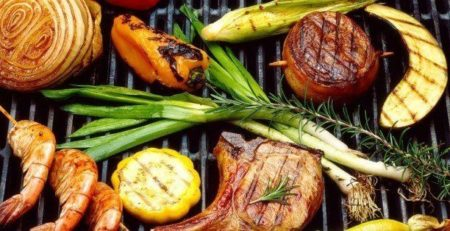Gezonde barbecue catering