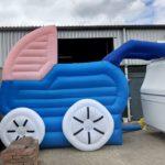 Opblaasbare kinderwagen